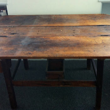 Antique Work Table? - Furniture