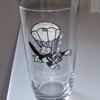 "503rd Parachute Infantry ""Cat Patch"" Tumbler - Military and Wartime"