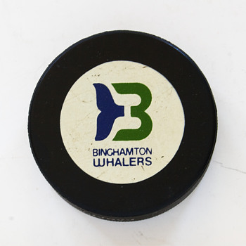 Binghamton Whalers Hockey Puck….. - Hockey