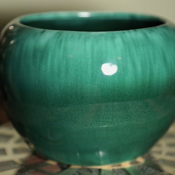 Beautifully Glazed California Pottery Planter / Bowl
