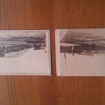 Civil War Era Canadian CDV'S Military Fort and The Wealthy