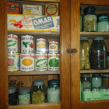 Kitchen Items In The Cupboard - Kitchen