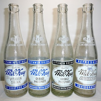 Mil-Kay Soda Bottles