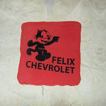 Felix Chevrolet Detailing Rag - Advertising