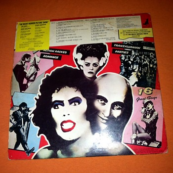 Limited edition/ Rocky Horror Picture Disc. 1985 - Records