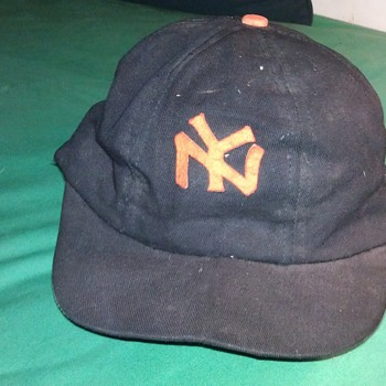 Vintage NY Giants baseball hat