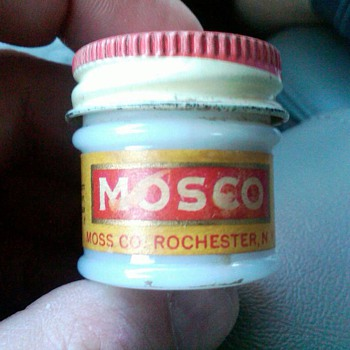 Mosco Corn remover - Advertising
