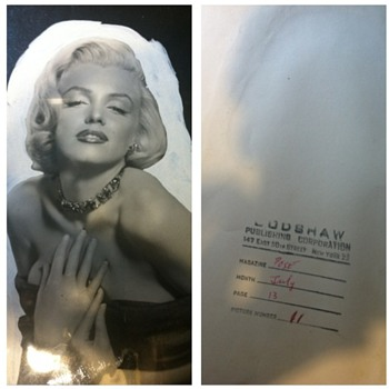 My Marilyn Photo 