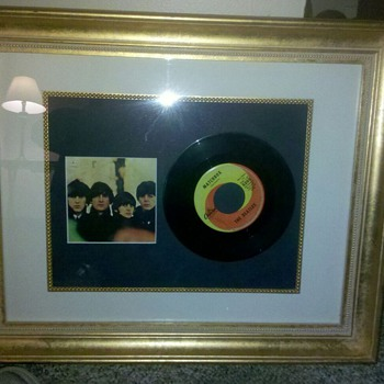 john lennon signed record - Music
