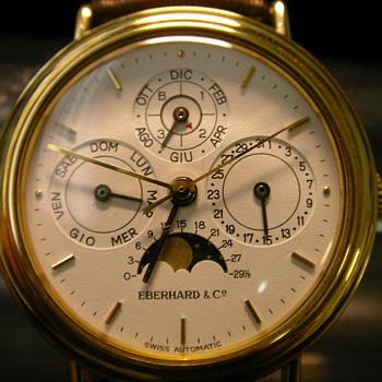 1989 Eberhard & Co. Perpetual Calendar Wristwatch