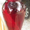 Vintage Red Vase ---Help!