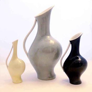 SCHWANGERE LUISE vase by Fritz Heidenreich (Rosenthal, 1950) - Art Pottery
