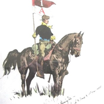 Fredric Remington Genuine Reproduction
