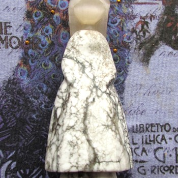 USSR Carved Stone Figurine