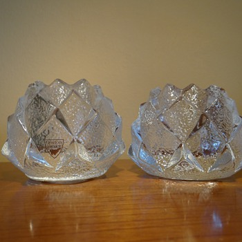 ORREFOR'S -SWEDEN /VOTIVES / SET COMPLETE - Art Glass