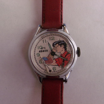 1951 New Haven/Muros Lil Abner Wrist Watch
