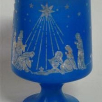 Christmas Nativity Candle Holder