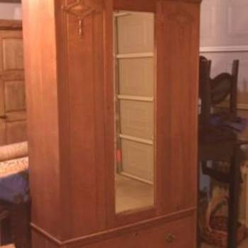 Old English Armoire - Furniture