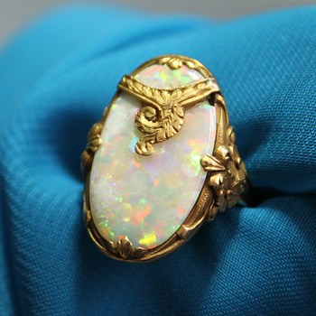 My new Opal ring