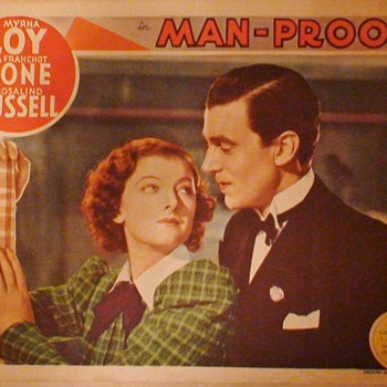 Myrna Loy Lobby Cards 1930s - Movies