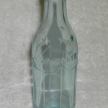 L &amp; V LaPorte Bottling Works / Coca Cola Bottling Works - Bottles