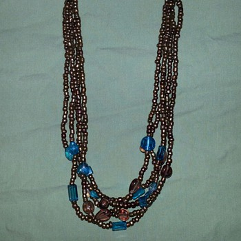 Brown's and Blues - Costume Jewelry