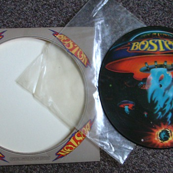 1976 BOSTON LP VINYL RECORD - Picture Disc - Records