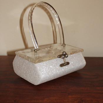 Charles Kahn Lucite Purse - Bags
