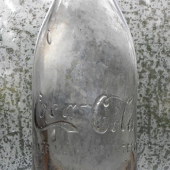 Jacksonville, Fl Straight Sided Coca-Cola Bottle - Coca-Cola