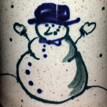 Happy Holidays - Art Pottery