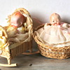 Babies in baskets!