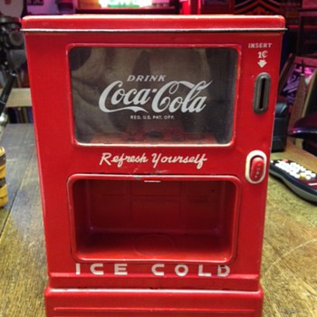 1950'S Coca-Cola Dispenser Bank - Coca-Cola