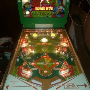 1971 Gottlieb Home Run pinball - Coin Operated