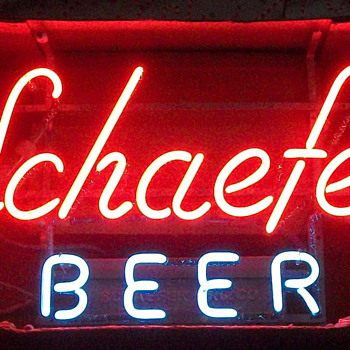 Schaefer Beer  - Signs