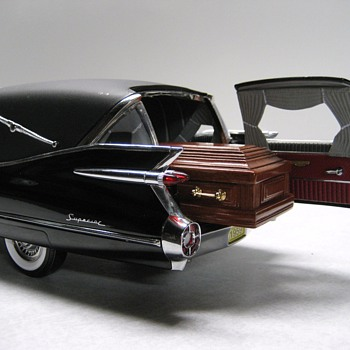 1959 Cadillac Hearse Die-cast Replica  - Model Cars
