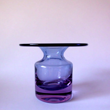 Tapio Wirkkala small vase 3539 for Iittala - Art Glass