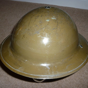 "Pre WW11 ""experimental"" British helmet - Military and Wartime"