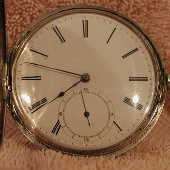 Unknown Silver Pocket Watch ( Locle Switzerland?)  - Pocket Watches