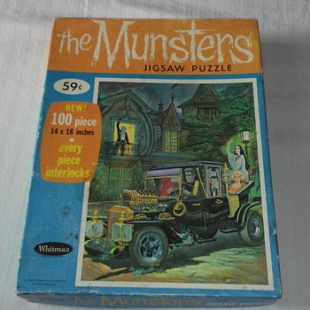 1960's Munsters Puzzle !! 100% complete