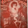 """Here Is A Guy Smoking Something Thru A Overly Long Pipe And Sheet Music Called"""" BACHELOR'S  LOVE DREAM"""" 1911  OPIUM??"""