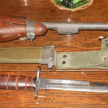 M4 Bayonet For M1 Carbine