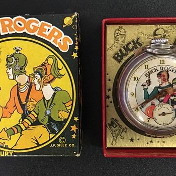 Buck Rogers Pocket Watch in original box - Wristwatches