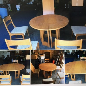 Lane dining set vintage 1963 - need help identifying