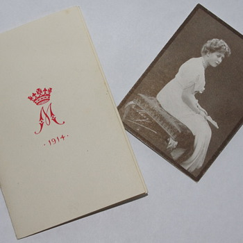 1914 Royal Christmas Card - Cards