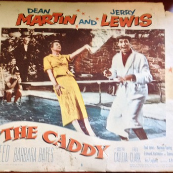 1953 the caddy lobby card - Movies