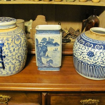 Antique Chinese items - Asian