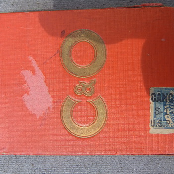 C & O railroad cards with tax stamp  How Old Are They? - Railroadiana