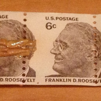 FDR 6 cent stamp Horizontal Coil Roll  - Stamps