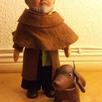 German monk doll