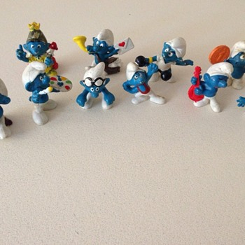 Part of my Smurf Collection